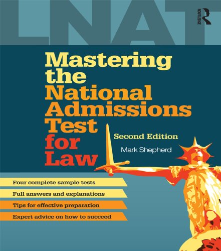 Mastering The National Admissions Test For Law (English Edition)