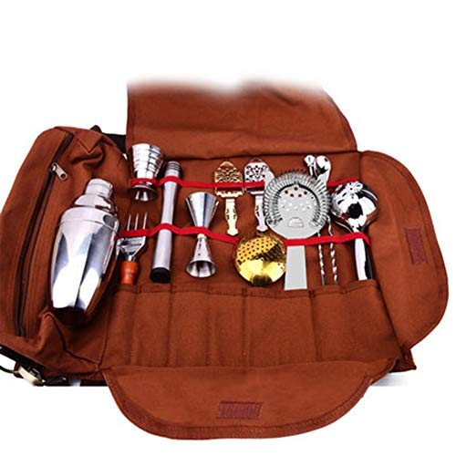Juego de mezclador 13 piezas de juego de vino que incluyen herramientas y kits de coctelería...