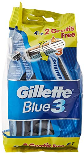 Gillette Afeitado Manual, 6 cuchillas