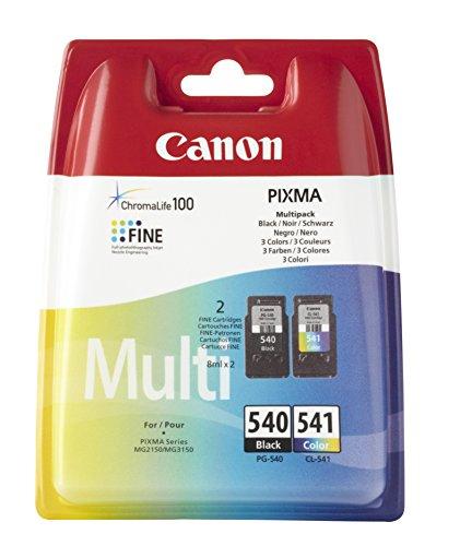 Cartuccia Canon Pg540/541 Multipack 5225B006 Originale