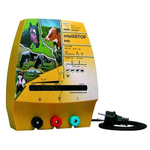 horizont 10608 Elektrozaungerät -Ranger N40- Netzgerät, 230 Volt, 3 Anschlüsse, farblos