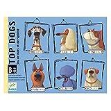 DJECO Top Dogs Juegos de Cartas, Multicolor (35099)