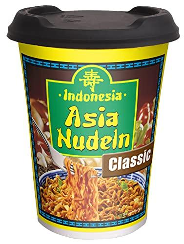 Indonesia Asia Nudeln Classic Soja - Vegane Instant Nudeln im praktischen Cup, 93 g