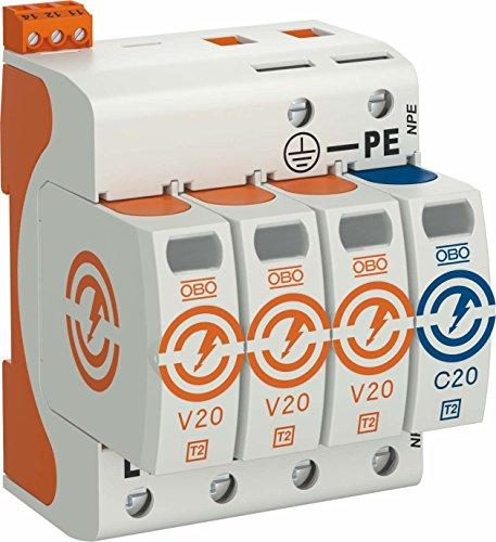 obo-bettermann Ableiter Überspannungsschutz Typ 2Version 3+ 1mit FS 280V