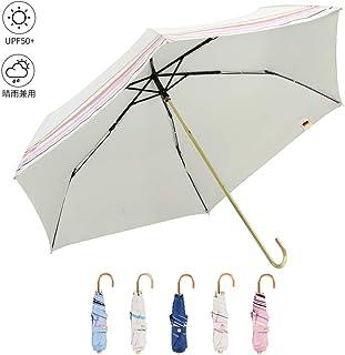 2019年新版 折りたたみ傘 boy 軽量160g 日傘 UVカット99% 持ち運びやすい 遮光 遮熱99.9% 折り畳み日傘 UVカット率99.9% 日焼け防止 晴雨兼用 傘袋付き(フローシャドウ)