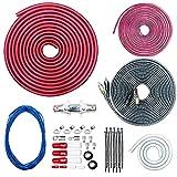 CT Sounds 4 Gauge OFC Complete Amp Wiring Install Kit, AMPKIT-4GA-ELITE