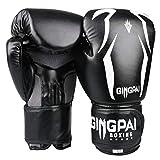 GINGPAI Guantes de boxeo, MMA de alta calidad para entrenamiento de boxeo,...