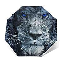 ライオン 折りたたみ傘 自動傘 ワンタッチ式 おしゃれ 耐強風 超撥水 晴雨兼用 梅雨対策 メンズ レディース ビッグサイズ