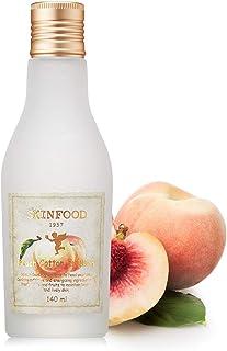 SKINFOOD Peach Cotton Emulsion 140ml - Sebum Control Essence Type Moisturizing Facial Lotion for Oily Skin, Smoothing & Ma...