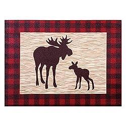 Northwoods Moose Canvas Wall Art
