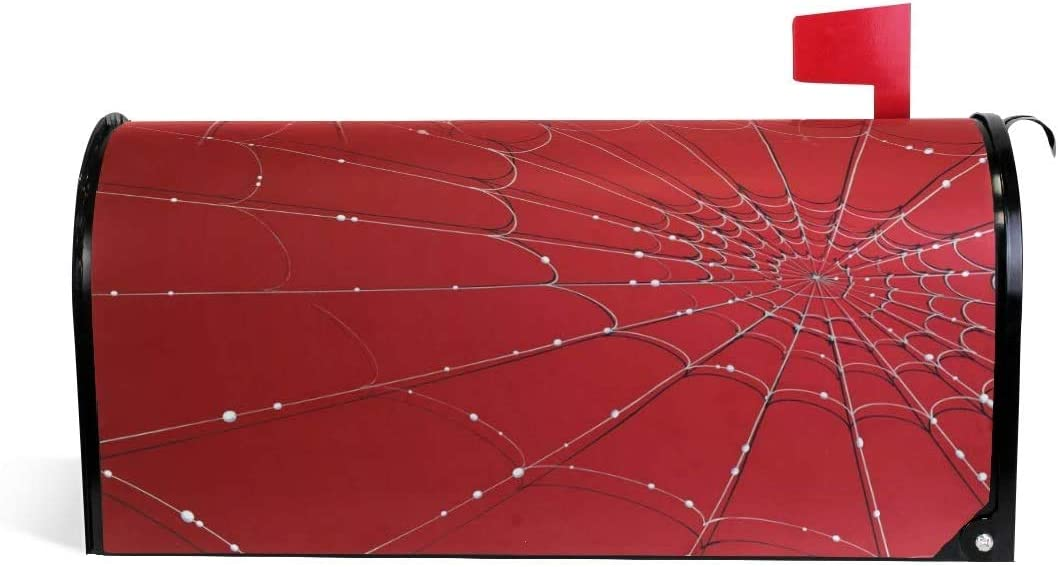 YAOAIAI Spider Web Magnetic 21x18 in Size Standard Cover Max 53% OFF Mailbox Brand new