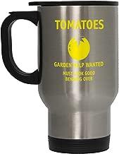 Yellow Tomatoes Garden Help Wanted Steel Travel Mug - Stainless
