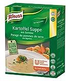Knorr Kartoffelsuppe mit Gemüse  Trockenmischung (natürlicher Kartoffelgeschmack, leichte...