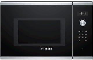 Micro ondes Encastrable Bosch BFL554MS0 - Micro-Ondes Intégrable Inox et noir - 25 litres - 900 W