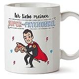 Mugffins Patenonkel Tasse/Becher/Mug - Super Patenonkel - Schöne und lustige Kaffeetasse als...