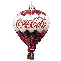 Kurt Adler Coca-Cola Glass Balloon Ornament 3.5-Inch 【Creative Arts】 [並行輸入品]