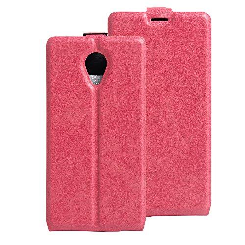Litao-Case CN Hülle für WIKO S-Kool hülle Flip Leder + TPU Silikon Fixierh Schutzhülle Case 1