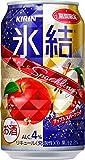 キリン 氷結 アップルスパークリング 缶  チューハイ 350ml×24本