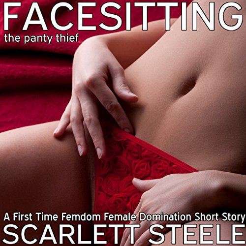 Facesitting the Panty Thief audiobook cover art