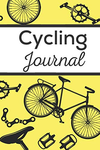 Cycling Journal: Cycling workbook | Biking journal | 6x9 inches, 121 pages | Gift For Bike Lovers Cyclist Men Women