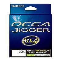 シマノ(SHIMANO) PEライン オシア ジガー MX4 300m 2.5号 ライムグリーン PL-O74P 釣り糸