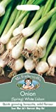 Mr Fothergill's 10890 Vegetable Seeds, Onion (Spring) White Lisbon