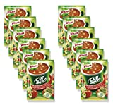 KNORR Cup a Soup Instant Soup Tomato With Croutons - Pack of 12