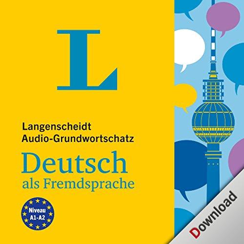 Langenscheidt Audio-Grundwortschatz Deutsch als Fremdsprache Titelbild