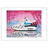 JosHoppenbrouwers Nike Air Max 1 Piet Parra Poster 01 (70 x