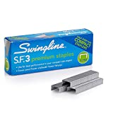 Swingline S.F. 3 Premium Staples, 27% Fewer Misforms, Chisel Point, Half Strip, 1/4-Inch Leg Length, 3750 Box (S7035442) callus remover for feets May, 2021