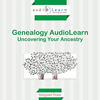 Genealogy AudioLearn audiobook cover art