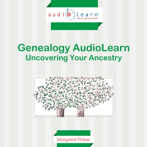Genealogy AudioLearn audiobook cover art