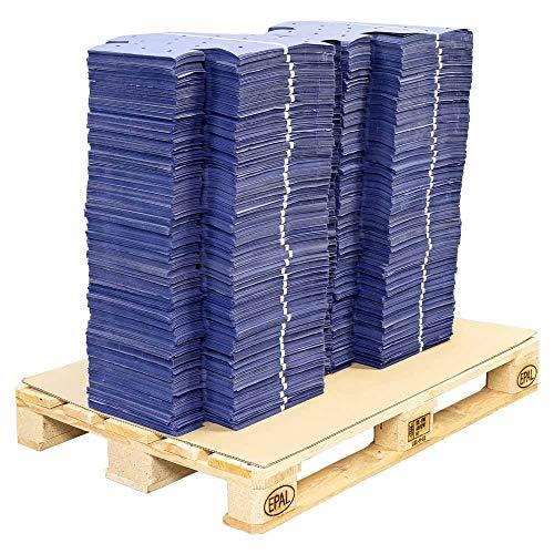 8000x Auslegepapier blau für 40x60 cm Europool und IFCO Kisten 64,0x83,5x14 cm