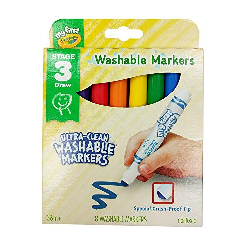 CRAYOLA My First Washable Markers 8 CT