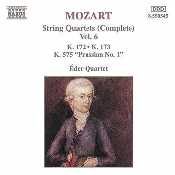 MOZART: String Quartets, K. 172-173 and K. 575, 'Prussian No. 1'