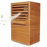 Mini Ventilador Aire Acondicionado Refrigeración Ventilador De Escritorio, Ventilador Silencioso...