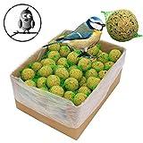 100 x 90 g =9 kg Meisenknödel mit Insekten mit Netz Vogelfutter 4 Jahreszeitenknödel...