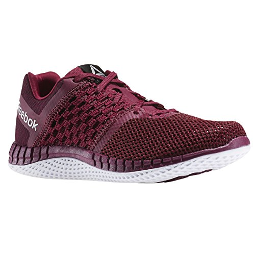 Reebok ZPRINT RUN HAZARD GP, Damen Laufschuhe , Rot (Rebel Berry / Mystic Marron / White), 37.1/3 EU (4.5 UK)