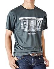 (アローナ)ARONA Tシャツ カットソー メンズ 半袖 ドライ 吸水 吸汗 速乾 アメカジ ミリタリー /M1.5/