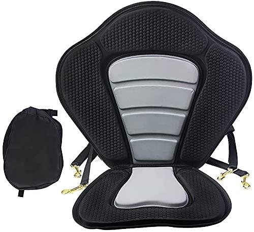 AGF Asiento de Kayak para Tabla de Remo con Correas Resistentes y Ganchos para Asiento Universal (con Bolsa)