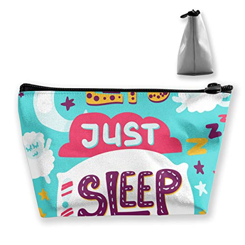 Only Allows Sleeping Multi Functional Makeup Bag Cosmetic Organizer and Toiletry Holder