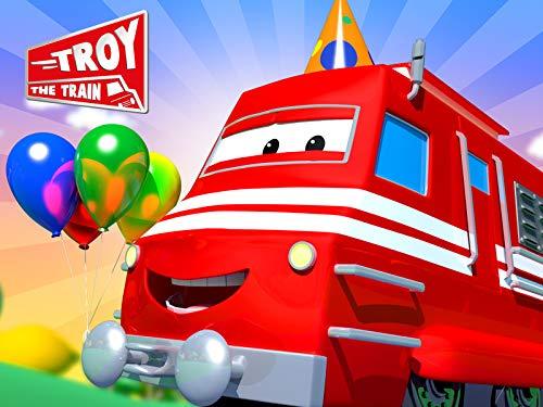Troy il Treno in Car City