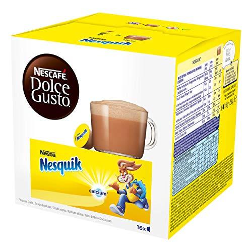Nescafé Dolce Family Pack, Cappuccino, Latte Macchiato, Nesquik, Kaffee, Kaffekapsel, Kapsel, 9 x 16 Kapseln