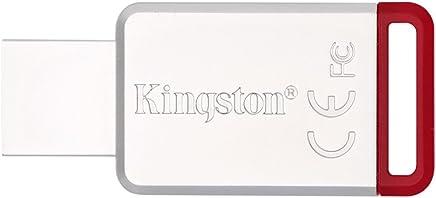 Kingston 金士顿 DT50/32GB USB3.1 金属U盘 红色