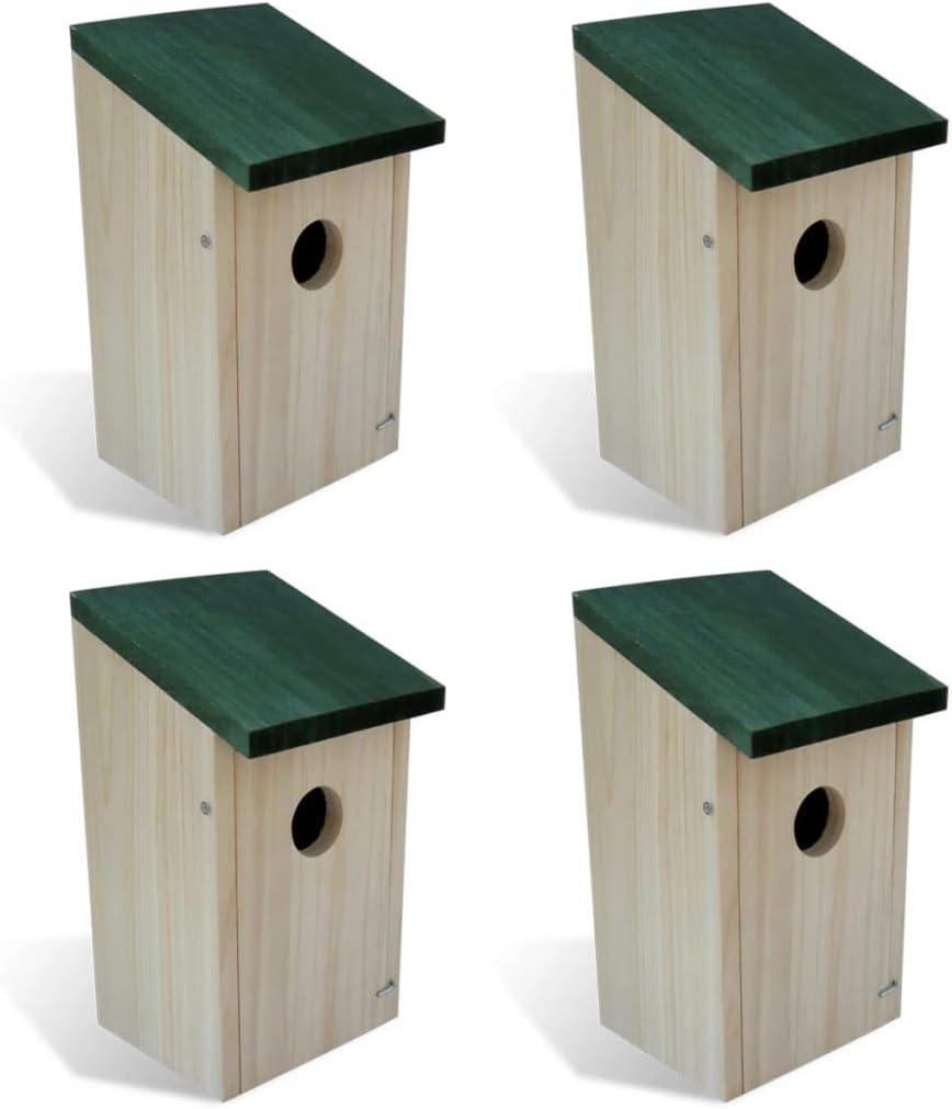 Unfade Memory ランキング総合1位 Bird Houses Wood 4.7'x4.7