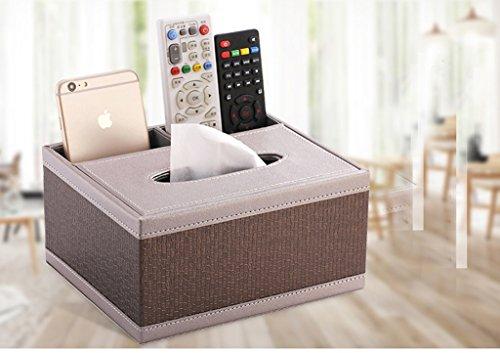 Salon boîte à mouchoirs multi-fonctions de bureau de téléphone portable télécommande boîte de rangement (Couleur : Modern Chinese style)