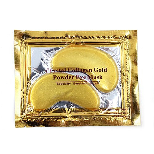 5 Pairs Premium Collagen Eye Mask Anti Wrinkle Bags Ageing Crystal Eyelid...