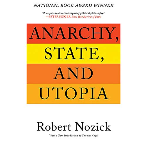 Anarchy, State, and Utopia audiobook cover art