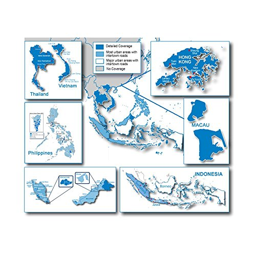 City Navigator Southeast Asia-Navteq NT microSD/SD Card