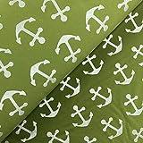 Glünz Reflektierender Softshell Anker grün - Stoff -